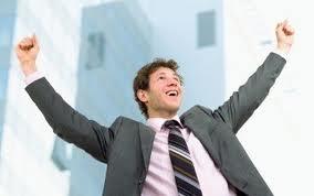 jobseeker celebrating