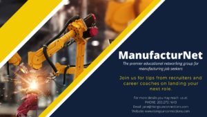 educational netwroking group for manufacturing jobseekers