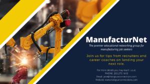 educational netwroking group for manufacturing jobseekers